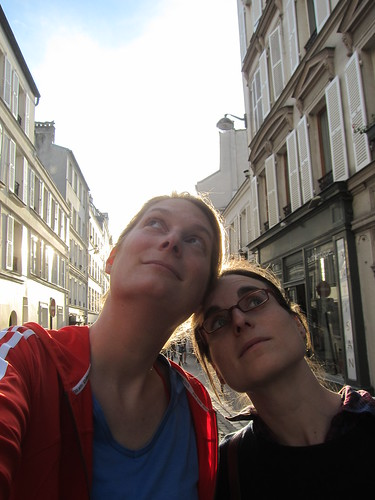 us in Montmartre