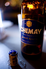 Chimay@WILD MAGIC (mayor_of_clutch0625) Tags: bbq toyosu tokyo   nikon     night japan birthday   friend meat vegetable       belgium