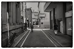 Penang cnr (ESSEM-Fotografe : Sean Mullarkey) Tags: street city urban bw canon dark gritty 7d adelaide streetscape iphone