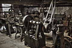 Machine Shop HDR 4 (throttle426) Tags: mill shop machine hdr matlock lathe masson