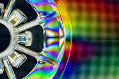 365.2.120 Kraftwerk (m4barcelona) Tags: color colour macro cross cd case plastic angry pixels pixelated polarised