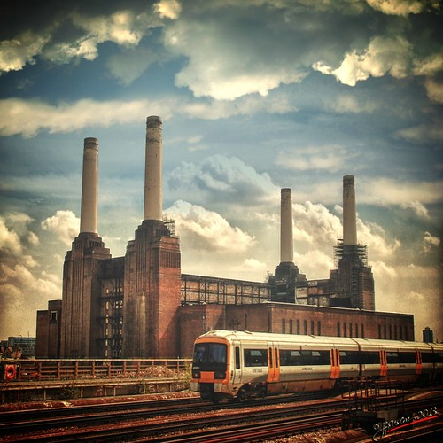 Battersea: the damn plant