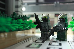 Stage Three: Greater Argentina Advanced Infantry (The Purge) Tags: lego thepurge legomilitary greaterargentina
