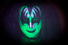 Gene from Kiss Alive the Tribute (taddzilla) Tags: face kiss florida westpalmbeach bighair rockmusic demon collar genesimmons rockandroll allrightsreserved bassplayer tributeband 2013 kissalivethetribute