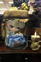 Blythe in a jar