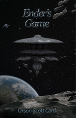 Cover Remake (Mr TATor) Tags: moon ship earth spacestation fleet endersgame