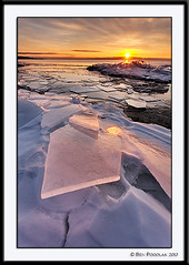Brighton Beach Ice-3 (Ben Podolak) Tags: ice mn duluth lakesuperior