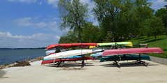 Canoes, James Madison Beach, Madison (ali eminov) Tags: wisconsin madison canoes beaches jamesmadisonbeach