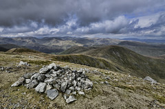 Rampsgill Head Two (mjb868) Tags: mountains clouds walking landscape nationalpark scenery solitude lakes lakedistrict rocky trail cumbria fells mountaineering vista peaks tarn rugged rambling moorland d7000 mjb868
