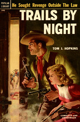 Trails by Night (McClaverty) Tags: illustration paperback western pulp tomjhopkins