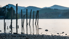 Derwent Water (Joe Dunckley) Tags: barrow causeypike cumbria derwentfells derwentisle derwentwater england grisedalepike keswick lakedistrict northernlakes swinside uk forest hill lake landscape mountain nature pole sunset tree water woodland