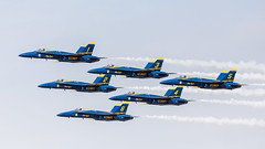 Singing the Blues (4myrrh1) Tags: blueangels flightdemonstrationsquadron flightdemonstrationteam flight flying aircraft airplane aviation airshow airplanes airport mcas nc cherrypoint navy f18 canon ef100400l 7dii