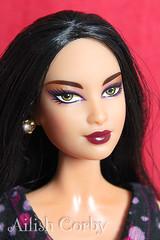 Elegancia natural (AilishCorby) Tags: black doll dress negro barbie nights arabian mattel noches vestido 1001 muñeca scheherazade