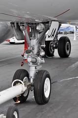 Airbus A319-133(LR) (A380spotter) Tags: undercarriage landinggear nosegear wing airbus a319 100lr 100 a7cja  alhilal qatar  qatarairways qtr qr  qatarexecutive qqe qe staticdisplay fia16 sbacfarnboroughinternationalairshow2016 taglondonfarnboroughairport eglf fab