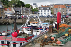 Pittenweem Harbour (Rollingstone1) Tags: harbour fishing boats creels pittenweem fife scotland floats nets buildings colour marine coast architecture outdoor landscape