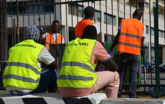 Kennedy11 (Genova citt digitale) Tags: richiedenti asilo genova piazzale kennedy agosto 2016 volontari nigeria lavoro ilva