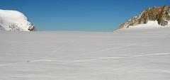 La mer de glace (mimu81) Tags: valdaosta altavia1 mountains alps alpi trekking hiking italy valferret montebianco montblanc snow white ice glacier