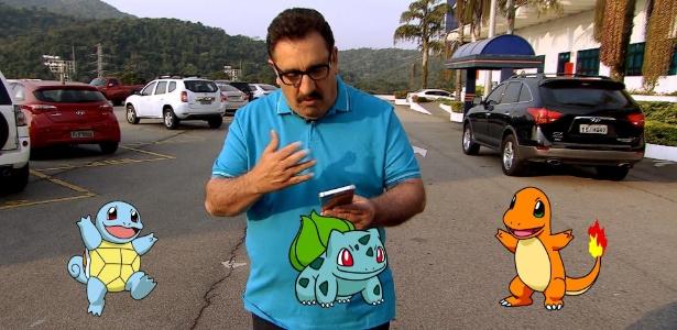 Ratinho e Gentili caçam Pokémon para barrar estreia de Porchat na Record