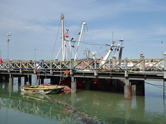Sajenn has Landed the Catch (Gilder Kate) Tags: newhaven newhavenharbour eastsussex sea harbour docked moored fishingboat boat fishing englishchannel channel sajenn fishingtrawler trawler fishingjetty jetties jetty west quay westquay
