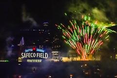 _DSC0690 (marilynwe) Tags: 2016 becca chris family marinersgame rebecca safecofield turnerfamily fireworks