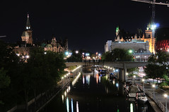 Rideau Canal at Night (J-Fish) Tags: rideaucanal canal canadianparliament chateaulaurier night unesco unescoworldheritagesite ottawa ontario canada d300s 1685mmvr 1685mmf3556gvr