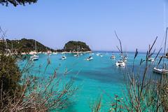 Paxoi, Greece (Nafsika Chatzitheodorou) Tags:     summer sun sunny sunshine blue green sky sea paxoi antipaxoi paxos antipaxos vocation holiday people beach greece hellas voutoumi boat boats nature