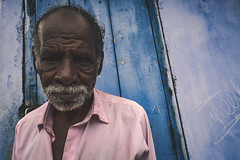 India (Enricodot ) Tags: enricodot india color colors colori blue man portrait portraits travel ritratto ritratti