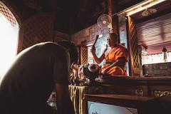 Time to be blessed (Ronan Siri Photography / @:ronan.sirim@gmail.com) Tags: bless chiang mai spiritual way thailand trip travel temple spirituel pray prayer monk buddhist buddha explore light ronansiri canon eos 1635mm 5dmkiii