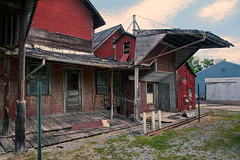 Cool old building (Thankful!) Tags: mtmorris mountmorris livingstoncounty newyork newyorkstate upstatenewyork village town mill