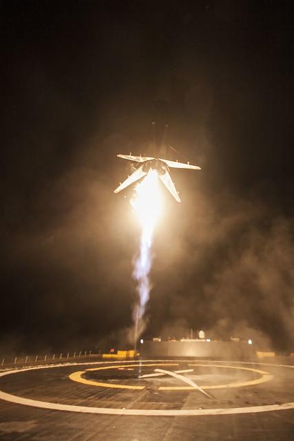 JCSAT-16 landing