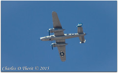 """Maid in the Shade / B-25J """"Mitchell"""" (ctofcsco) Tags: 11250 1d 1div 20x 2x 56 800mm airforce b25 b25j canon colorado coloradosprings ef400mmf28liiusm ef400mmf28liiusm20x eos1d eos1dmarkiv explore extender extender2x extender2xii mark4 markiv supertelephoto teleconverter bokeh explored geo:lat=3893083779 geo:lon=10489145279 geotagged gleneyrie northamerica telephoto unitedstates usa usaf wwii wwiibomber airplane aircraft vehicle renown photo picture pic northamericanaviation mediumbomber 335972"""