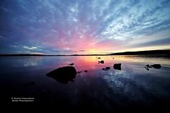 Sunset @ Hatanpn Arboretum, Tampere (AV art) Tags: sunset sun landscape tampere finland august evening auringonlasku aurinko ilta elokuu suomi samyang14mm hatanp arboretum