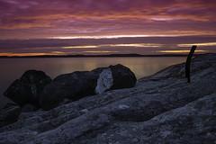 Kuuvannokka (nilppi) Tags: sunset finland landscape ocean nature