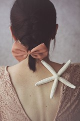35/52 (bernadetakupiec) Tags: back conceptual hair naturallight selfportrait strafish woman indoor people freckle