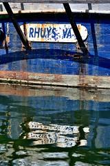 Cette coque a d bourlinguer ... (hboutrouille) Tags: bateau coque peinture vannes