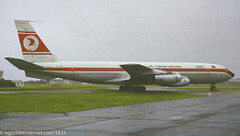 TC-JAM - 1960 build Boeing B707-321, frame scrapped at Miami, FL in mid 1983 (egcc) Tags: 121 17607 b707 b707321 boh boeing boeing707 bournemouth eghh hurn lightroom n427ma n729jp n729pa n731ba n731jp tcjam turkhavayollari turkishairlines
