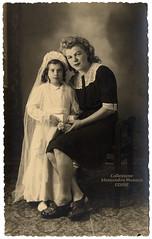 Portrait by Tardivello - Udine 1946 (spadon75) Tags: giuliotardivello 1946 udine friuli friuliveneziagiulia italia italy realphotopostcard