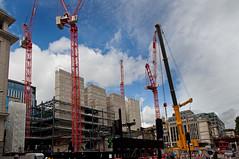 _DSC9137 copy (NRM the 2nd) Tags: htcwolffkran wolffkran 355b 500b ainscough liebherrltm1750 goldmansachs london cityoflondon construction 2016