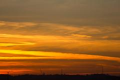 Backlit con trail (ArtGordon1) Tags: sunset sunrays evening london england walthamstow uk october 2016 davegordon davidgordon daveartgordon davidagordon daveagordon artgordon1 sky