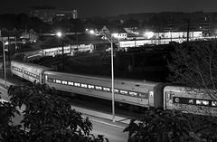 Danbury Train Station (Ballroompics) Tags: train station hitchcock strangersonatrain passengercars