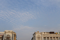 I Often Look Up because Rilke Says My Love Could Reach the Beloved Only in Infinity (Mayank Austen Soofi) Tags: delhi walla sky connaught place i often look up because rilke says my love could reach beloved only infinity