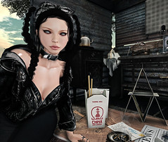 Id rather be (Anika ) Tags: akeruka ak pink hustler siix s letre secondlife tres chic the book of daniel ultra cosmetic fair events avatar