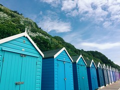 Beach Huts (thesmalladventures) Tags: dorset beachhuts blue adventure smalladventure