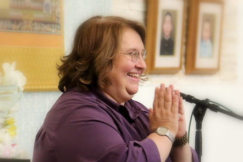 Best-selling Author and Insight Meditation Teacher, Sharon Salzberg, speaking at The Shinnyo Center