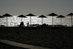 L'estate sta finendo... (silvia07(very busy)) Tags: estate summer ombrelloni spiaggia beach mare sea rethymno triopetra crete