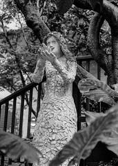 On the Greenwich Steps (aweiss.sf) Tags: 38mm analog blackwhite california film fp4 halfframe ilford olympus pen penft sanfrancisco greenwichsteps statue