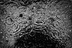 Raindrops keep falling. 265/366 (jenniferdudley) Tags: water nikonphotography nikond750 nikon ugh 21sep16 day265366 rainy rainyday puddles puddle raindrop rain raindrops blackandwhite monochrome 366the2016edition 3662016