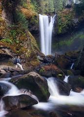 iPhone 7 Waterfall Whisperer (terenceleezy) Tags: iphone7 iphone7plus shotoniphone7 shotoniphone7plus fallcreekfalls washington waterfalls iphone