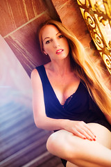BB__2700_Finished_provia100 (bb_productionz) Tags: beauty fashion glamour portrait model girl nice sweet female hot sexy frankfurt lady bbproductionz face outdoor friends girls canon reflector sunbouncer sunset legs high heels mini dress 5d mark iii 3 extrem makeup bikini summer cat suit overknees sinamai sina mai automechanika2016
