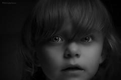 low key bw portrait (adampyrkosz) Tags: lowkey low key child portrait kid black white bw monochrome